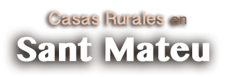 Casas Rurales Sant Mateu